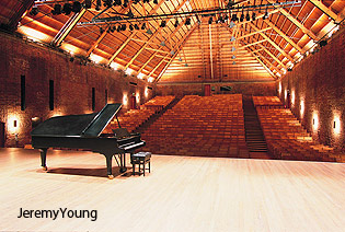 Snape Maltings concert hall by Jeremy Young