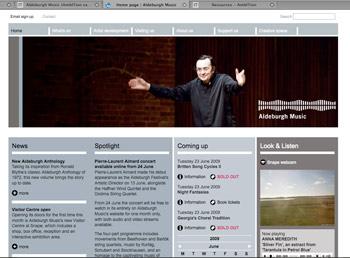 Aldeburgh's new website