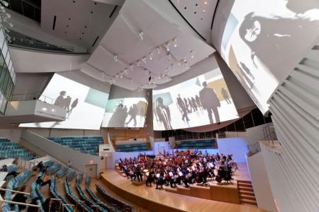 New World Centre concert hall