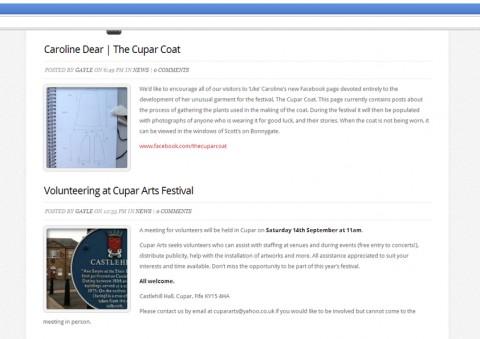 NewsBlogScreenshot