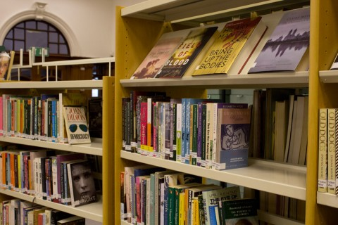 Books at Glasgow Women's Library - photo (c) Glasgow Women's Library